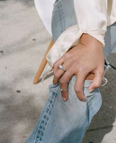 Those rings look a little bit like moonstones I love them more than any other stone.