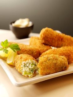 Larkin Cen's Cheese and Leek Croquettes family recipe