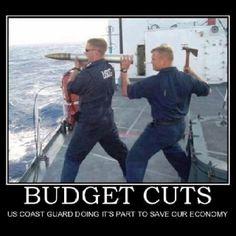 Budget cuts.. Lol!!