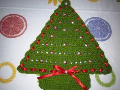 Árbol de navidad para poner en la pared.