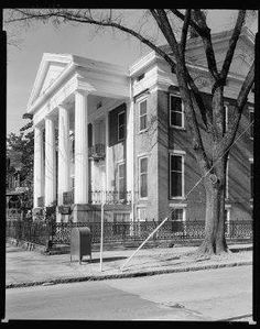 Turner Clanton Mansion. Augusta, GA. Demolished 1956