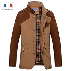 66.21$  Watch here - http://ali60z.worldwells.pw/go.php?t=2034362619 - Langmeng 2016 winter jacket men new high quality  brand coat fashion clothes hot sale winter overcoat outwear parka men coats
