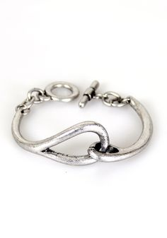 Make the Link Bracelet: Silver [ASMB 269] - $19.99 : Spotted Moth, Chic and sweet clothing and accessories for women
