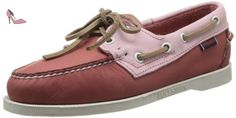 Sebago Spinnaker, Mocassins femme Rose (Salmon/Lt Pink) 40 (7 UK) - Chaussures sebago (*Partner-Link)