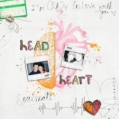 Head and Heart - Scrapbook.com