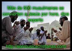 Más de 600 musulmanes se convierten a Jesús por hora dice experto – Noticias Cristianas