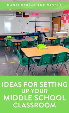 Enjoy a classroom tour from a teacher who has been teaching for 15 years. In this post, you will learn valuable classroom ideas for strategic set up. Middle School Reading, Middle School Classroom, I School, Future Classroom, School Ideas, Math Classroom Decorations, Classroom Layout, Classroom Ideas, Classroom Table