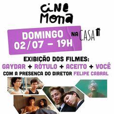 Tem gente de São Paulo aqui? Hoje domingo dia 2 de julho às 19h vai rolar uma exibição de quatro curtas LGBT no @centrocasaum. É Gratuito!!! O endereço é Rua Condessa de São Joaquim 277! Pra quem não sabe: a Casa 1 é uma casa de acolhimento a jovens lgbts expulsos de casa que precisam de ajuda. #cinema  #filme #lgbt #Pride #GayPride #Jampa #JoãoPessoa #PB #LGBT #LGBTPride #InstaPride #Instagay #Color #Travesti #Transexual #Dragqueen #Instadrag #Aligagay #Sitegay #SiteLGBT #Love #Gaylove