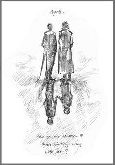 Sherlock and Mycroft.