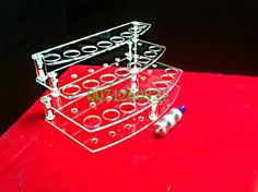 New Arrival/clear atomizer display/ Ego rotatable stand/Automatic smoking stand