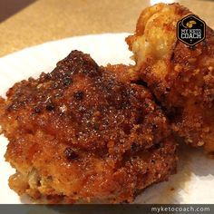 Fresh out of Chef Pravs Keto Kitchen is an amazing keto alternative to the famous Kentucky Fried Chicken recipe. This new keto version of KFC makes it easy to enjoy a nice piece of fried chicken with a coating that is all keto friendly. Here are some pho Recipe For Kentucky Fried Chicken, Keto Fried Chicken, Low Carb Chicken Recipes, Low Carb Recipes, Cooking Recipes, Cooking Games, Paleo Recipes, Ketogenic Recipes, Ketogenic Diet