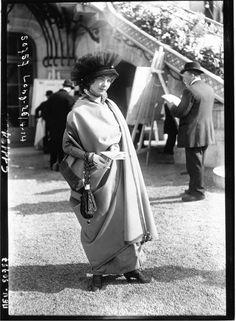 La mode à Longchamps | Agence de presse Meurisse. Agence photographique | 1914 | National Library of France | Public Domain