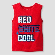 Baby Boys' Tank Top Really Red 12M - Cat & Jack, Infant Boy's, Size: 12 M