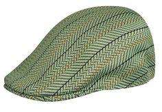 Kangol Hats Mens Pistachio Sierra Stripe 507 Cap