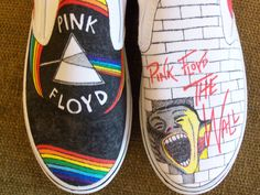 Pink Floyd shoes, anyone?