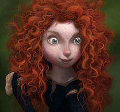 Arte conceptual de Brave de Pixar