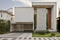 Decor Salteado - Blog de Decoração e Arquitetura : 30 Fachadas de casas com pedras – veja diferentes tipos e tendências!
