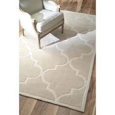 nuLOOM Handmade Luna Moroccan Trellis Rug (9' x 12') - Overstock™ Shopping - Great Deals on Nuloom 7x9 - 10x14 Rugs