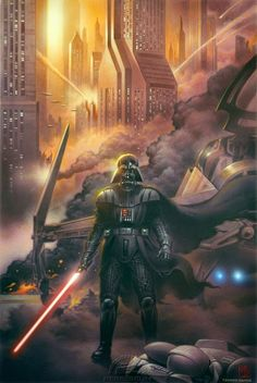 DARTH VADER AND THE GHOST PRISON (variant cover by Tsuneo Sanda)