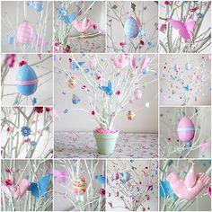 Easter Tree - cute idea
