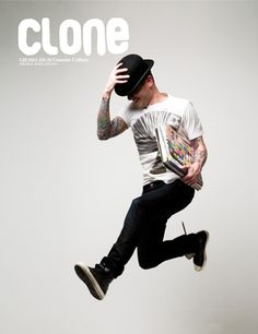 Clone Magazine, issue 31 May/June 2008 | Magazine Cover: Graphic Design, Typography, Photography | Photo: Samuel Sánchez |