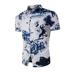 2017 Summer Floral Print Men Shirts Short Sleeve Casual Shirt  #Fashion #me #picoftheday #instagood #repost #nyc #tbt #followme #smile #photooftheday