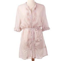 antique gauze fall / summer dress