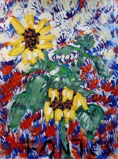 Arte Moderna & Contemporânea: Girassol VIII