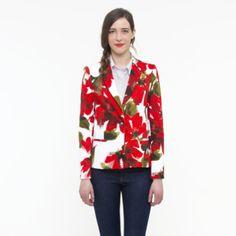 #Floral Blazer by Oak73 #AmericanMade #MadeinNYC #fashion Spring