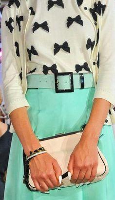 #Kate Spade Spring 2013 RTW   #Trend Ladylike