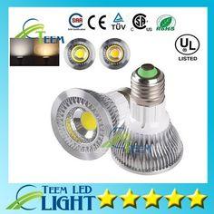 Dimmable Led COB Bulb Lights Led Spotlight Led Downlight PAR 20 light lamp down lighting Bulb Lights, Bulbs, Light Bulb, Led Cob, Spots, Downlights, Lamp Light, Spotlight, Lighting