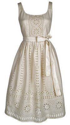 eyelet dress with sash. Pretty Outfits, Pretty Dresses, Cute Outfits, White Eyelet Dress, Eyelet Lace, Cute Bridesmaid Dresses, My Bridal Shower, Cute Fashion, Fashion Shoes