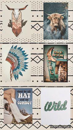 Western aesthetic wallpaper