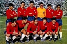 Chile's team for the final match versus Yugoslavia for the place in the FIFA World Cup Chile Big Men, Fifa World Cup, Mario, Soccer, Football, Ms, Legends, Google, World Championship