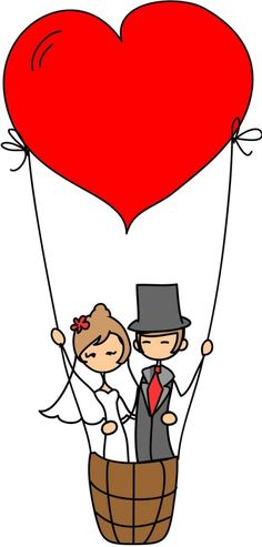Imagens para Papelaria de Casamento - noivinhos