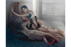 Vogue: May 2006  Freja Beha Erichsen in Dior Couture. Photo By Javier Vallhonrat
