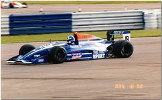 David Coulthard - Reynard 92D Judd Zytek - Paul Stewart Racing - BRDC International Trophy - 1992 International F3000 Championship, round 1 - © Antsphoto