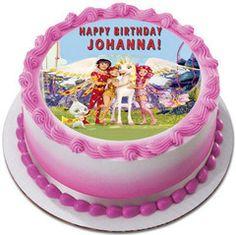 Mia and Me Edible Birthday Cake OR Cupcake Topper – Edible Prints On Cake (EPoC)
