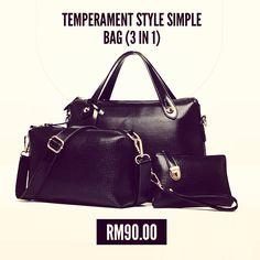 As elegant as a  bag get. SKU BW4333 www.avenue86.com  shopping  elegant   avenue86  avenue86team  shoppingtime  shoulderbag  slingbag  3in1  simple   worth 07f97929d47ec