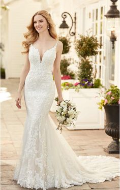 Wedding Dress 1171 by Martina Liana - Search our photo gallery for pictures of wedding dresses by Martina Liana. Find the perfect dress with recent Martina Liana photos. Sheer Wedding Dress, Fit And Flare Wedding Dress, Elegant Wedding Dress, Wedding Dress Boutiques, Designer Wedding Dresses, Bridal Gowns, Wedding Gowns, Chiffon, Mod Wedding