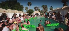 Coachella VIP Pool