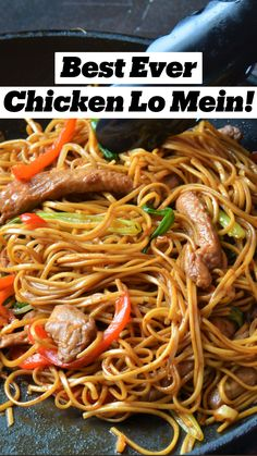 Homemade Chinese Food, Easy Chinese Recipes, Easy Dinner Recipes, Healthy Chinese Food, Easy Noodle Recipes, Easy Family Recipes, Best Food Recipes, Simple Meals For Dinner, Easy Meal Ideas