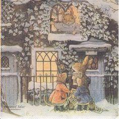 foxwood tales   Serviette Foxwood Tales ((Hiver) - Achat et vente - PriceMinister