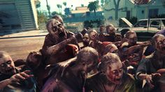 California! Vast exploration and outlandish survival, welcome to the Golden State as zombie playground. Characters! Choose from an elite crew of heroes who are immune to the zombie virus and eager to run headfirst into the apocalypse. Cyberpunk 2077, Sumo, The Walking Dead, Dead Island 2, News Games, Video Games, Upcoming Pc Games, Arte Zombie, Zombie Art