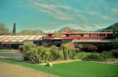 Frank Lloyd Wright's Taliesin West (1937), Scottsdale, Arizona