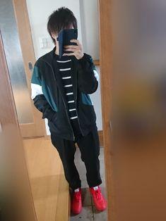 今回は、トラックジャケットを着てみました!(*・∀・*)ノ 少しでもいいなと感じたら、いいねやフォロ