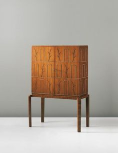 PHILLIPS : UK050414, Axel Einar Hjorth, Unique cabinet, 1937
