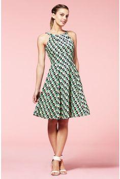 Louche Louisa Graphic Dress - £55