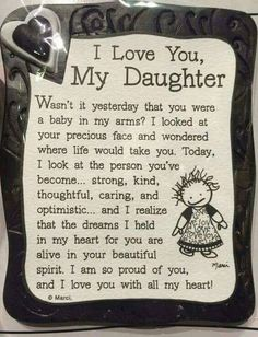 I Love My Daughter Quote Magnet quotes family daughter shop family quotes daughter quotes mom quotes buyable My Children Quotes, Quotes For Kids, Family Quotes, Me Quotes, Inspirational Quotes For Daughters, Baby Quotes, Girl Quotes, Mom Quotes From Daughter, I Love My Daughter