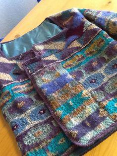Kaffe-Fassett-designer-handknit-Persian-Poppies-cardigan-gorgeous-Rowan-lined